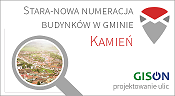 STARA-NOWA numeracja budynków wgminie Kamień